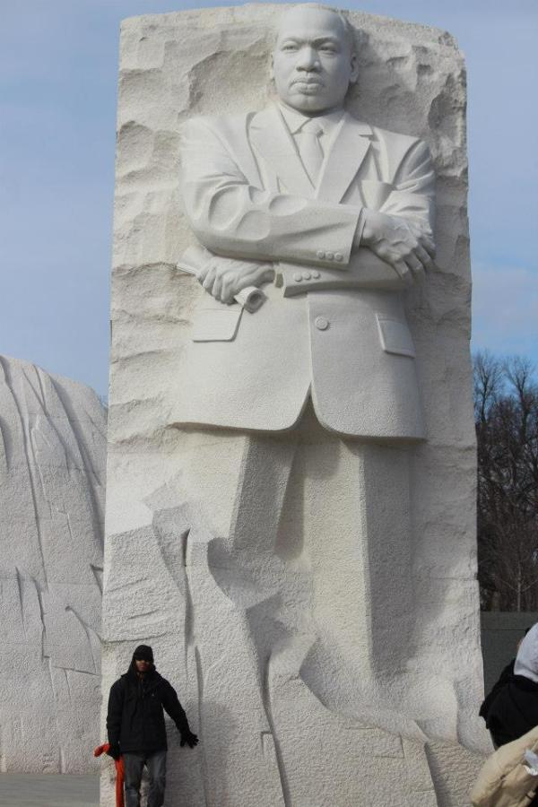 Martin Luther King, Jr. Memorial, Washington, DC.